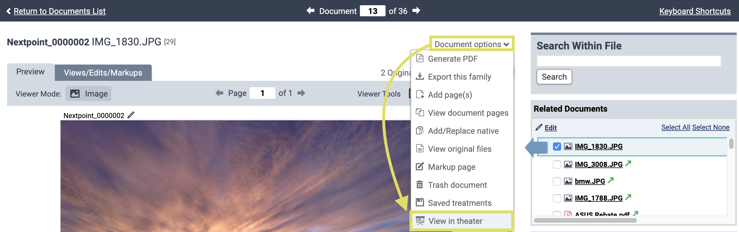 Prep_Access_Theater_from_document_viewer_then_document_options.png